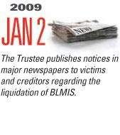 Timeline Image: Trustee publishes notices in major newspapers - 2009-01-02